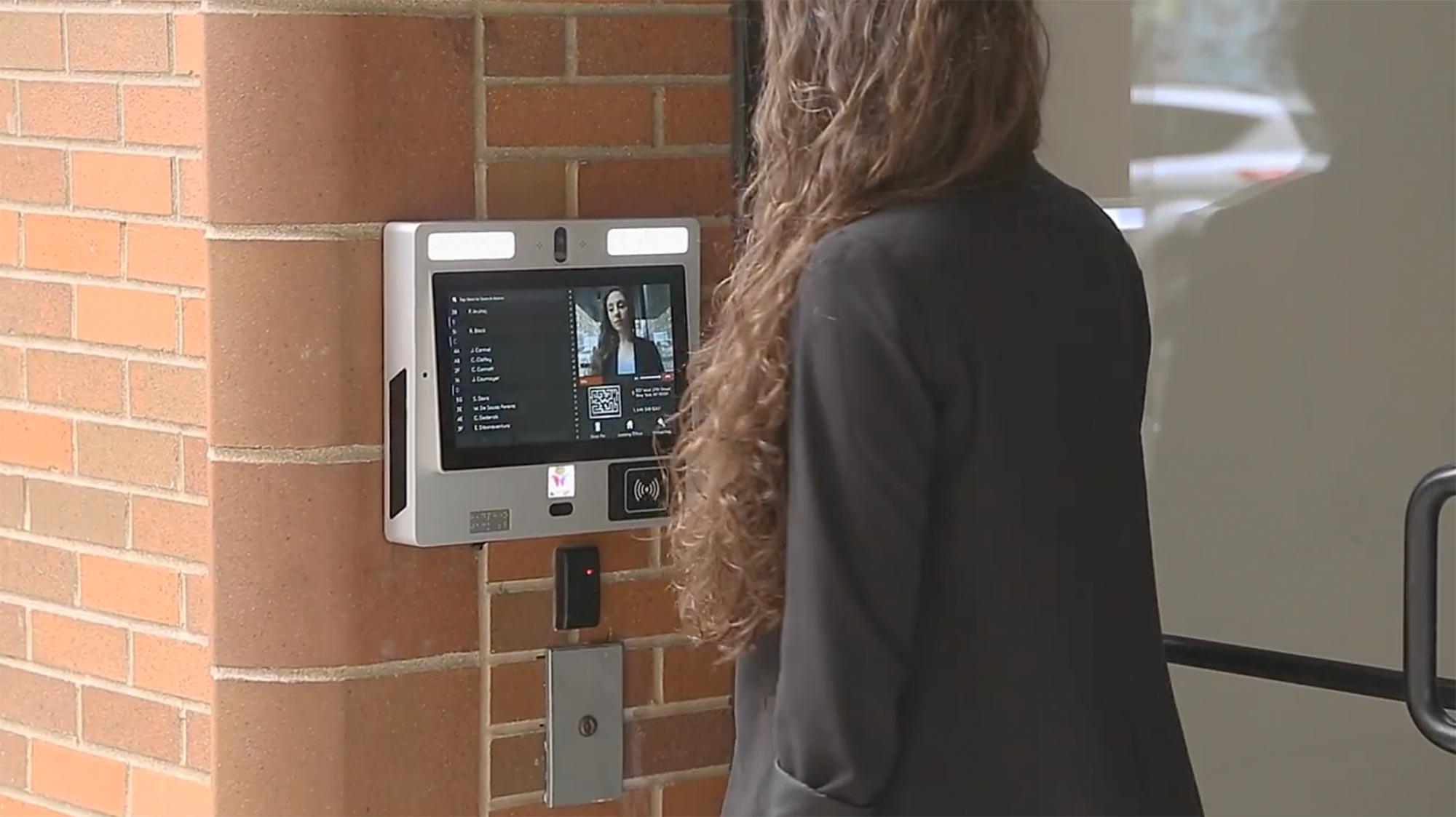 Multi Tenant Video Intercom Apartment Intercom System