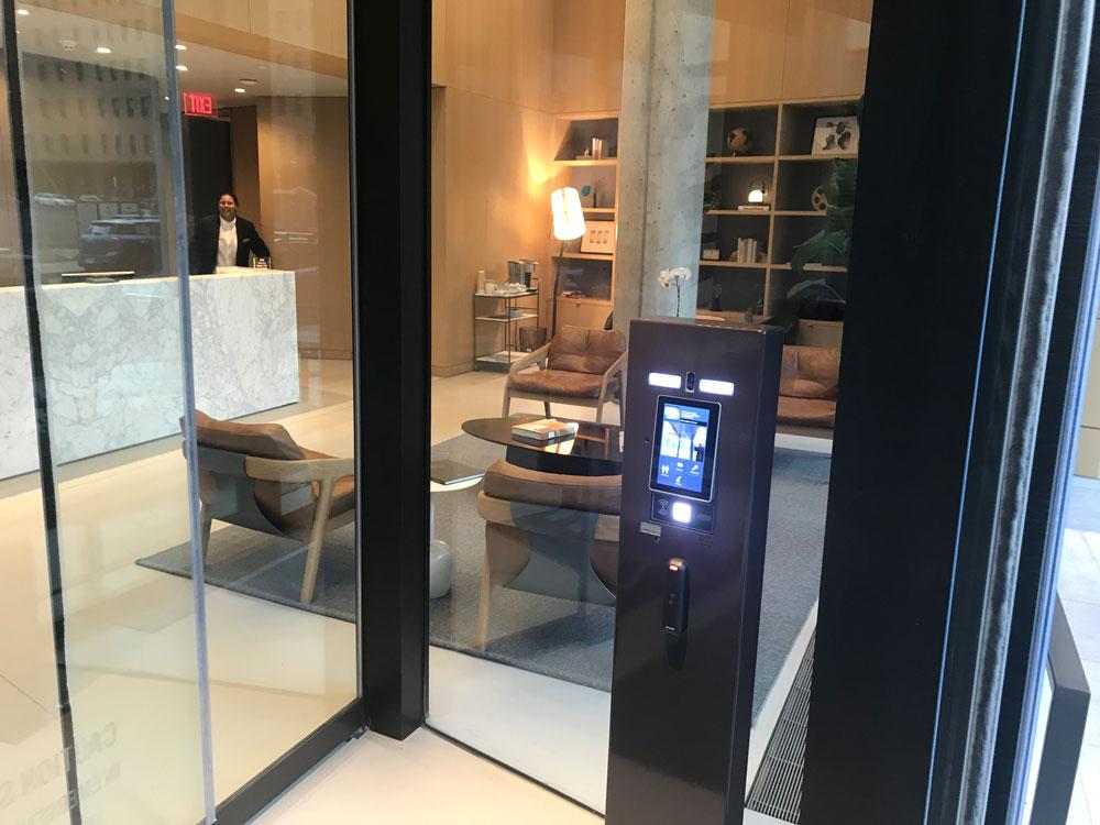 multi-tenant apartment intercom