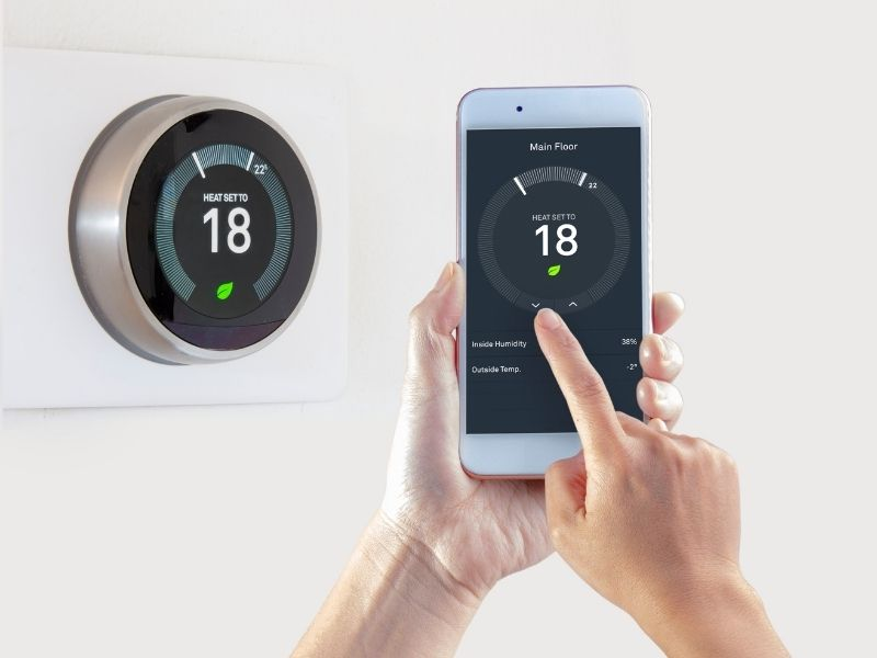proptech smart thermostat