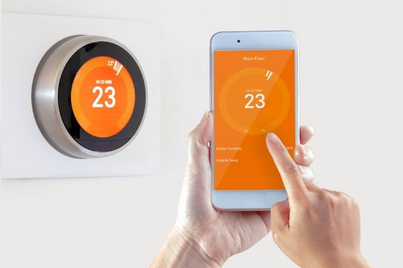 smart thermostat is an apartment amenity