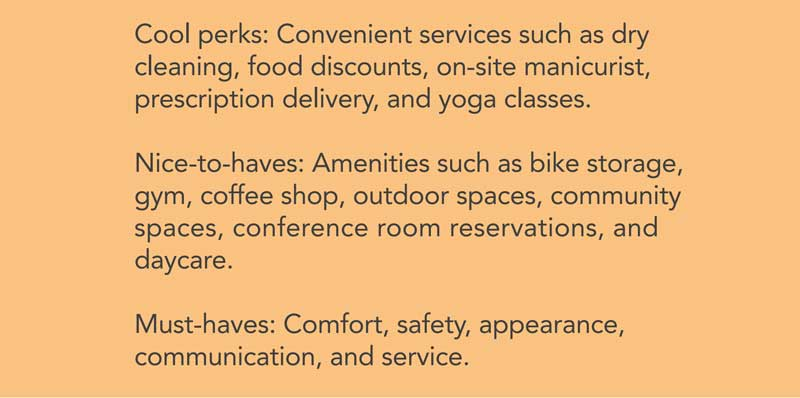 tenant experience must haves
