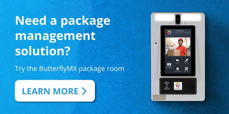 Package Management ButterflyMX