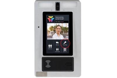 Using a virtual key on the ButterflyMX video intercom