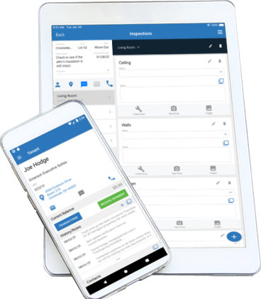 Rent manager mobile