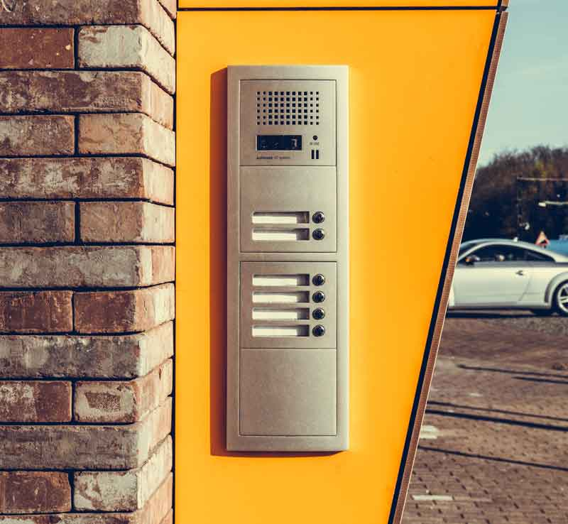 old apartment intercom system