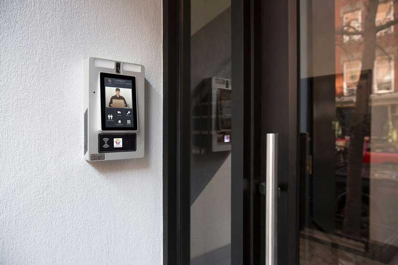 ButterflyMX apartment intercom system