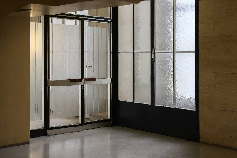 doors with electric strike