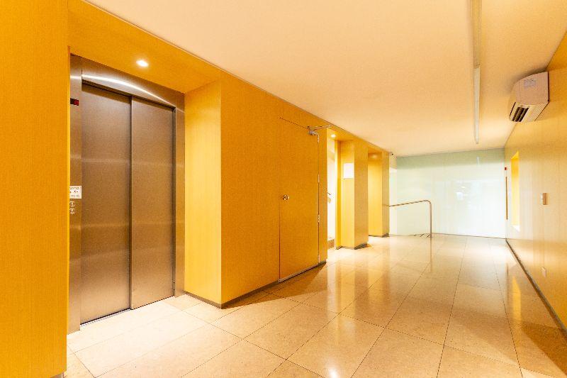 unlock elevators video intercom