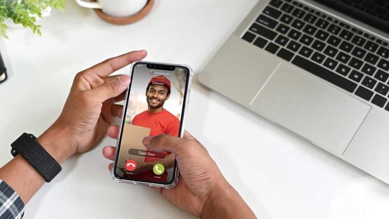 intercom system with mobile app