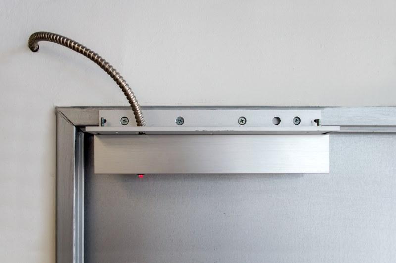 magnetic door lock apartment intercom