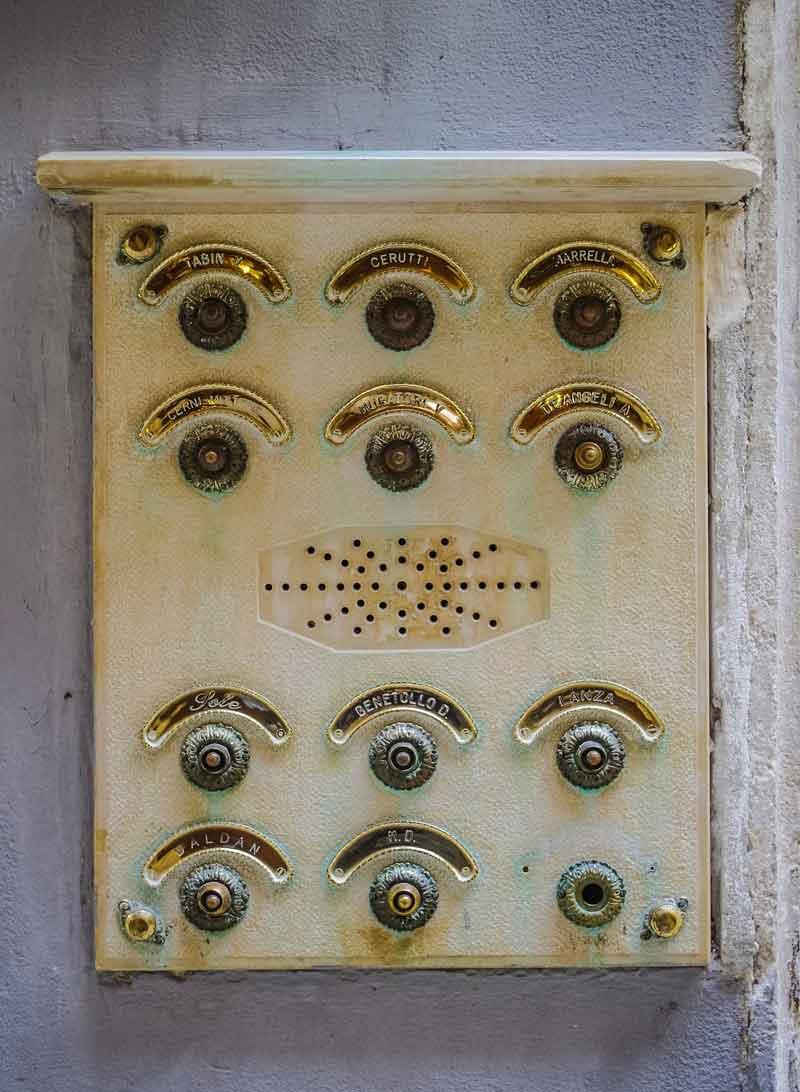 telephone entry intercom system