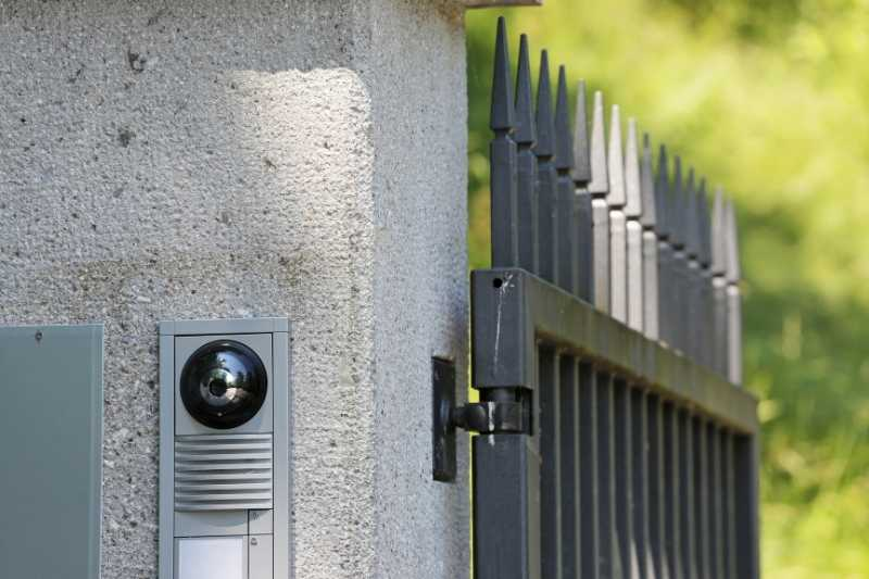 gate intercom system with camera