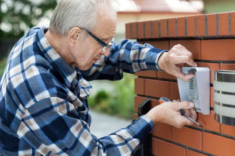 installing a gate intercom
