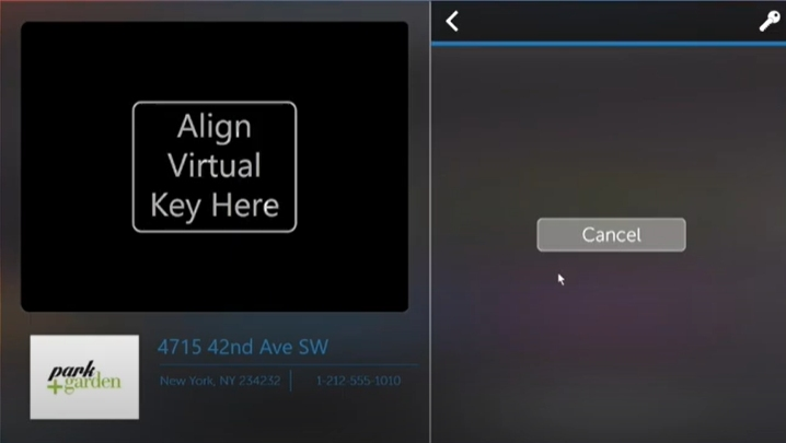 How to use the ButterflyMX intercom virtual keys