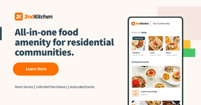 2ndKitchen food delivery for apartment buildings