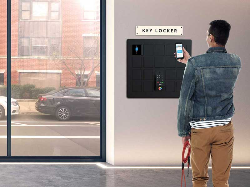Key Locker: Provide Building-Wide Access for Self-Guided Touring