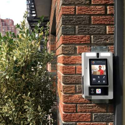 """7"""" Surface Video Delivery Intercom ButterflyMX"""