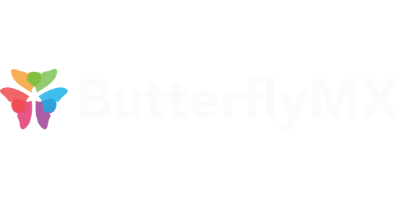 ButterflyMX Logo - White