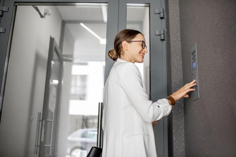 using a multi-tenant commercial intercom