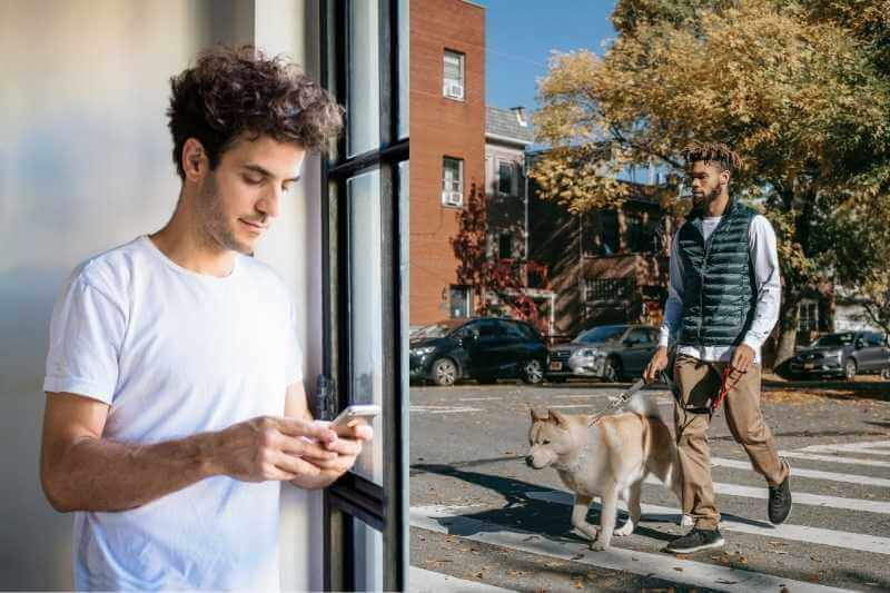 on-demand services at apartment dog walker