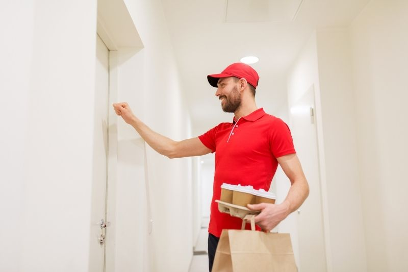 on-demand services apartment food delivery