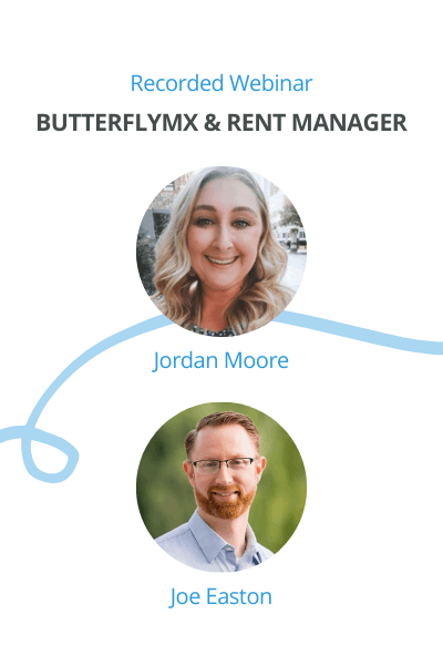 Register for ButterflyMX's webinar with Rent Manager on October 29th at 1pm ET
