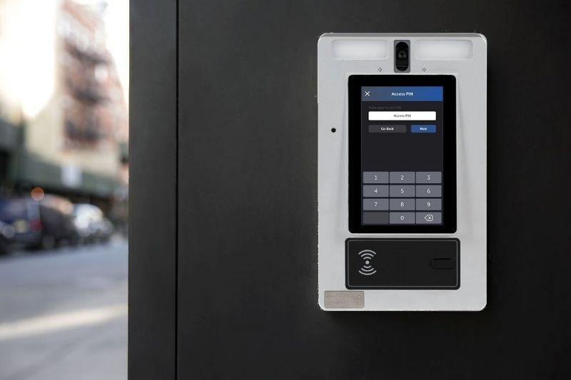 commercial intercom system access methods