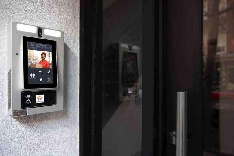 ip intercom in apartment building