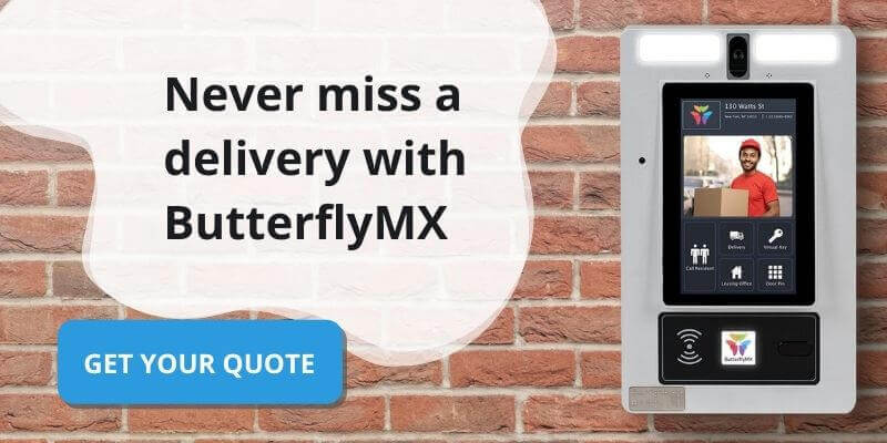butterflymx package room get a quote