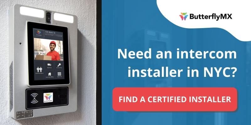 butterflymx certified access control installer