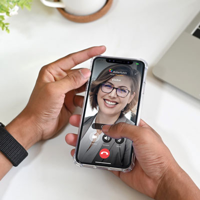 ButterflyMX Mobile App Video Call