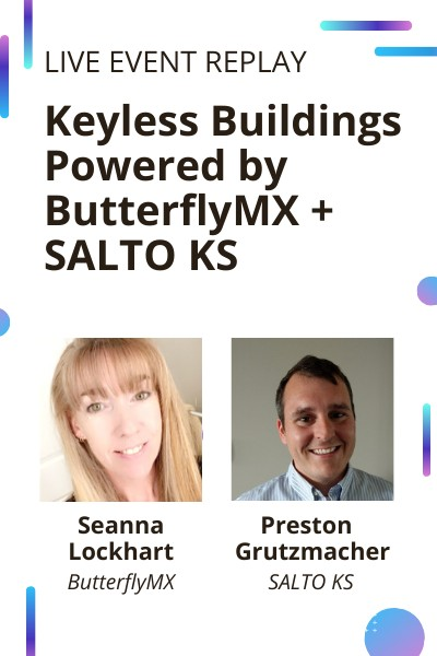 Watch the keyless buildings live event replay