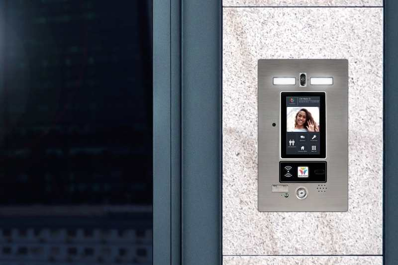 door entry system apartment