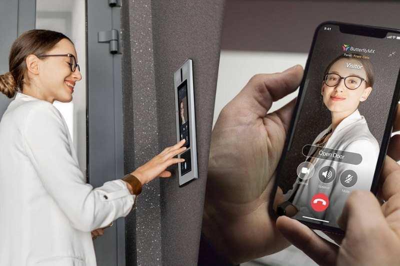 using commercial door buzzer system