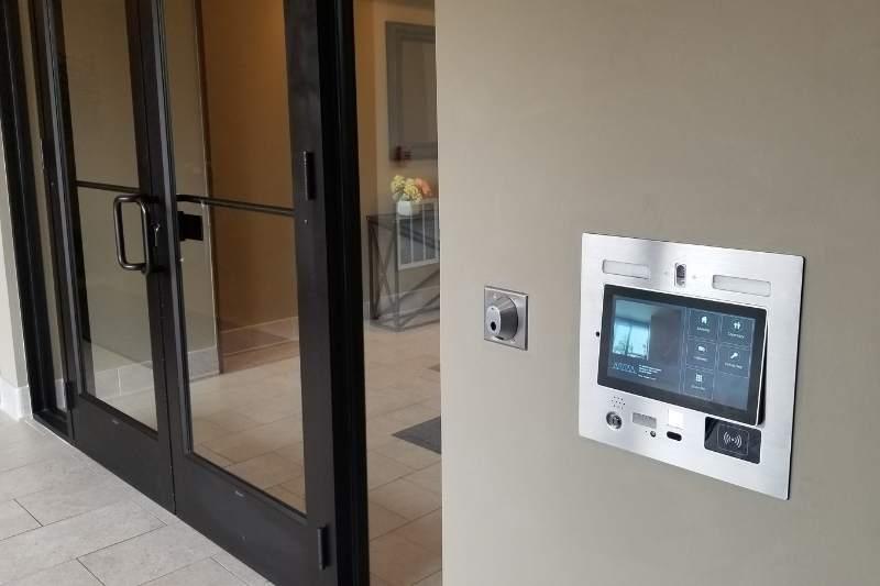 building door entry system