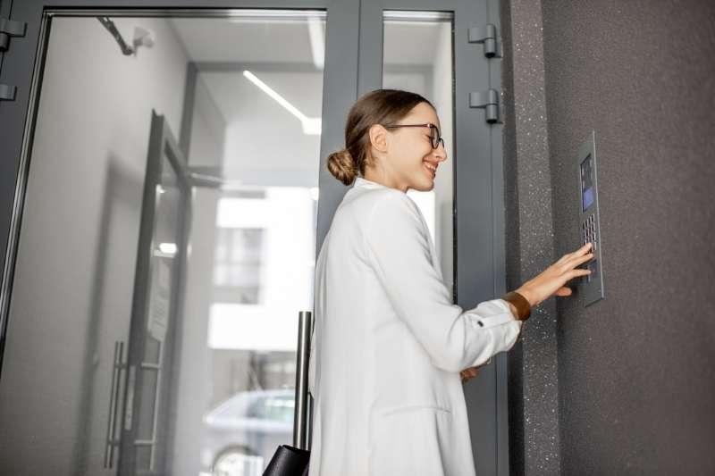 wireless door entry system user
