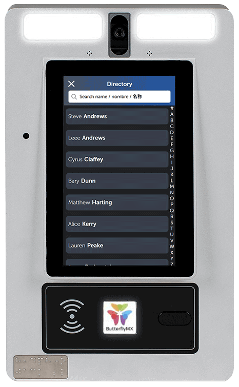 intercom directory