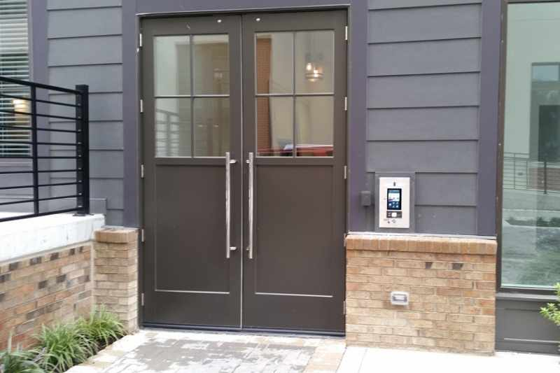video intercom to prevent package theft