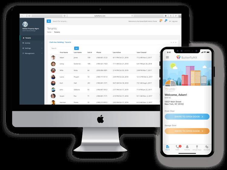 ButterflyMX Online Dashboard
