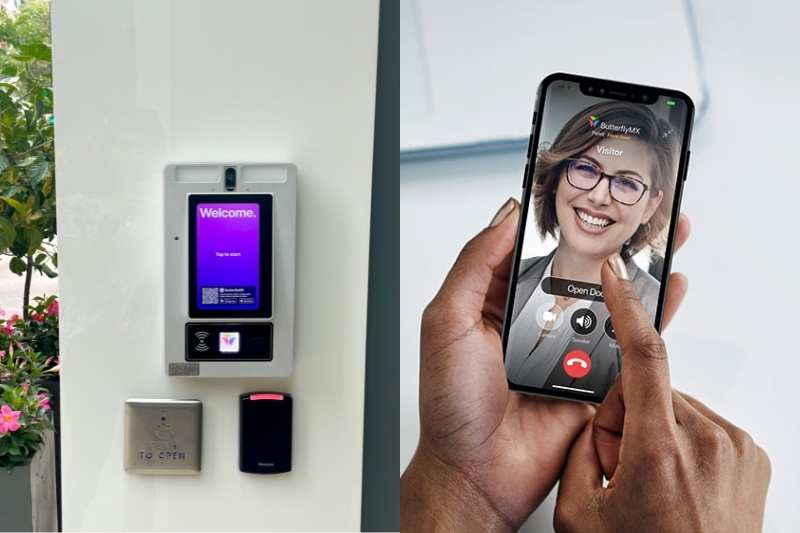 video intercom with a mobile app