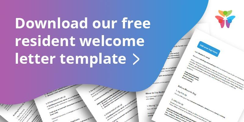 welcome new residents free template