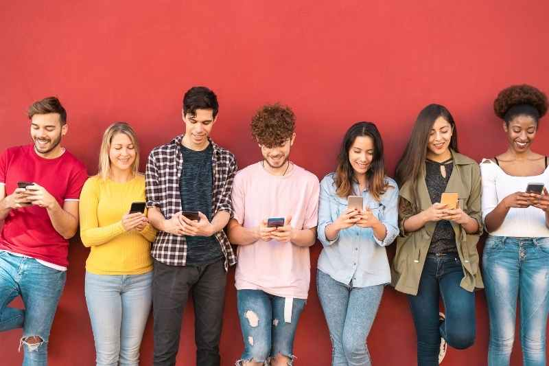 gen z renters social media