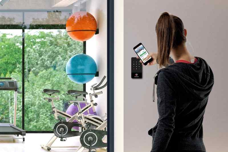 keypad access control smartphone