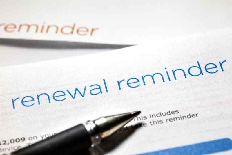 lease renewal reminder letter