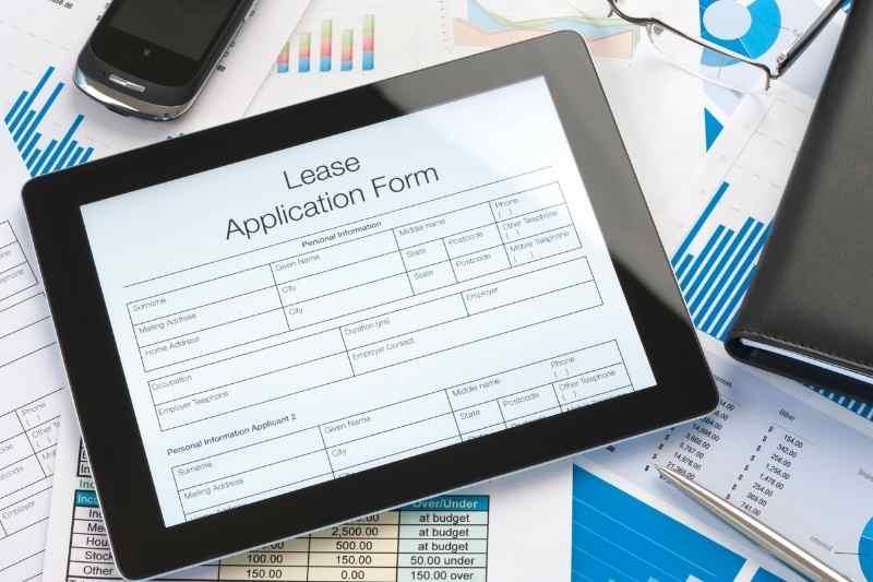 seamless digital lease renewal on ipad
