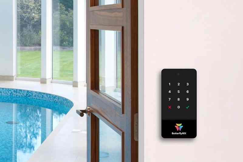 video keypad for amenity spaces