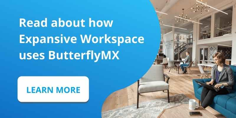Read about how Expansive Workspace uses ButterflyMX