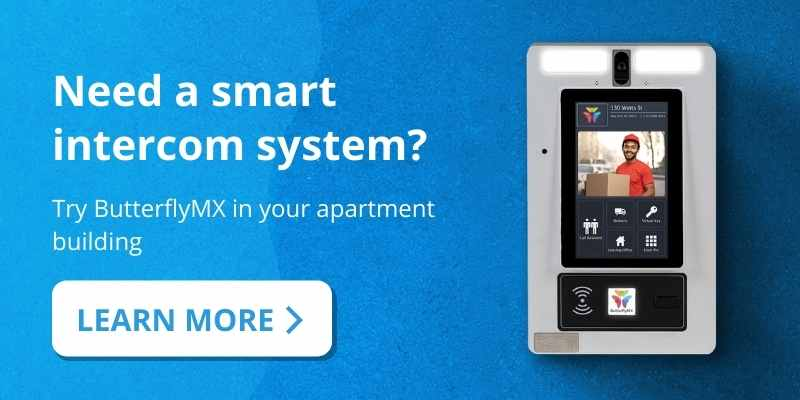 Need a smart apartment intercom? Learn more about ButterflyMX