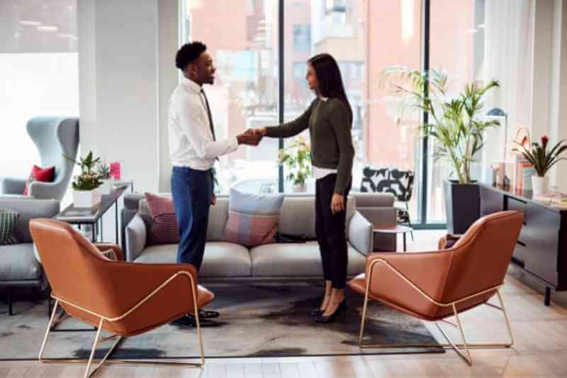 manager uses tenant screening services when meeting resident