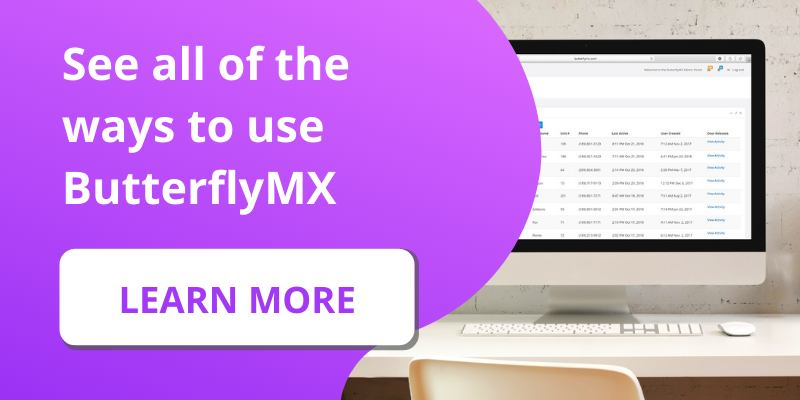Learn all of the ways to use ButterflyMX